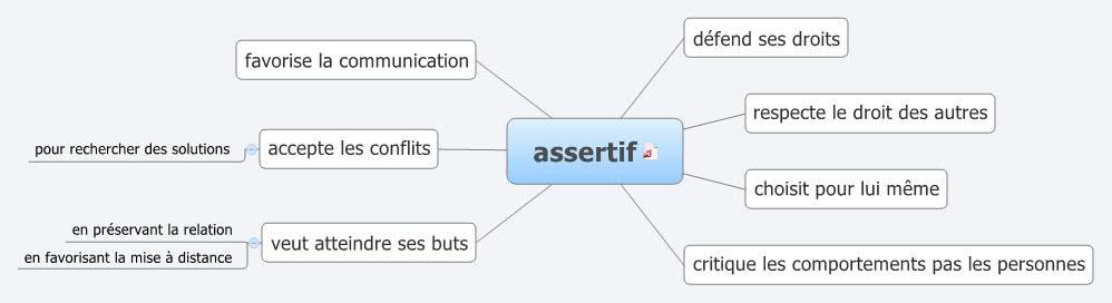 Définition de l'assertif via @sophieturpaud